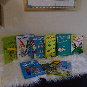 Dr Seuss book lot hardcover books /Cat in the hat